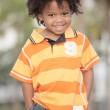Adorable little child smiling — Stock Photo