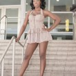 Sexy black woman — Stock Photo #3220595