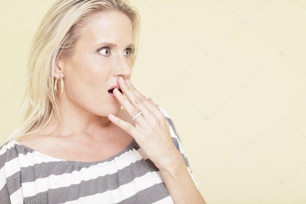 Shocked woman — Stock Photo © felixtm #3612813  Shocked woman �...