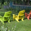 Garden Chairs — Stock Photo #2951322