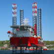 Stock Photo: Offshore Oil Rig
