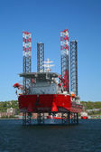 Offshore Oil Rig — Stock Photo