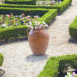 Stock Photo: Formal Garden