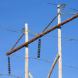Rural Power Poles — Stock Photo