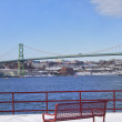 Halifax Bridge - Stock Photo
