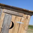 Farm Outhouse — Stock Photo