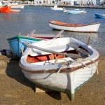 Mykonos Boats — Stock Photo