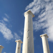 Delos Columns - Stock Photo