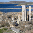 Delos Ruins — Stock Photo