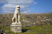 Delos Lion — Stock Photo