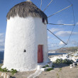 Stock Photo: Mykonos Windmill