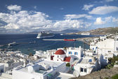 Mykonos Shoreline — Stock Photo