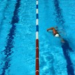 Foto Stock: Pool lane vertical