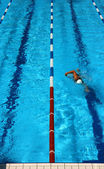 Pool lane verticale — Stockfoto
