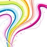 Abstract Rainbow Wave — Stock Vector #2755074