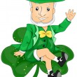 Stock Vector: Leprechaun