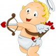 Stock Vector: Cupid