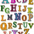 The Alphabet - Stockvectorbeeld