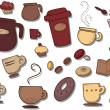 Coffee Icons - Grafika wektorowa
