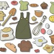 Royalty-Free Stock Vector Image: Baking Icons