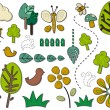Nature Icons - Grafika wektorowa