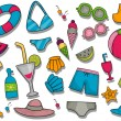 Royalty-Free Stock Vector Image: Summer Icons