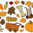Autumn / Harvest Icons - Grafika wektorowa
