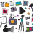 Stock Vector: Photography Icons