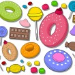 Sweets Icons - Grafika wektorowa