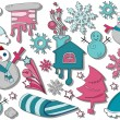 Winter Icons - Grafika wektorowa