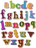 Het alfabet — Stockvector