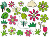 Spring Icons — Stockvector