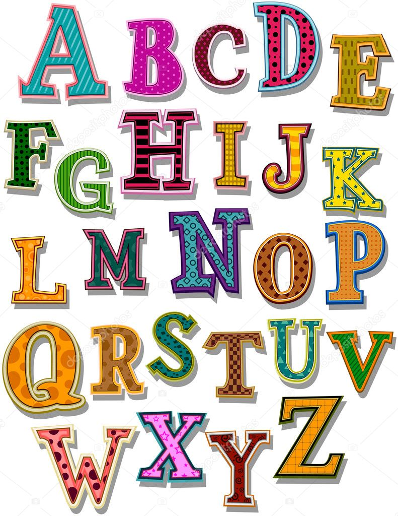 The Alphabet with Clipping Path — Stock Vector #2755165