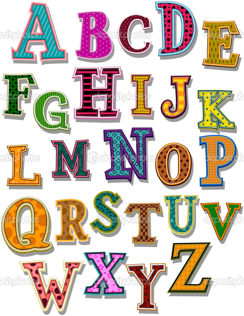 Worksheets The Alphabet the alphabet stock vector lenmdp 2755165 with clipping by lenmdp