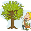 Money Tree — Stock Vector #3919830