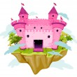 Pink Castle — Stock Vector #3919867