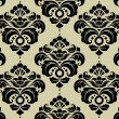 Seamless Damask Pattern - Stock Vector