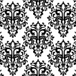 Seamless Damask Pattern — Vettoriale Stock #3920042
