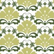 Seamless Damask Pattern — Stockvectorbeeld