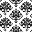 Seamless Damask Pattern — Vector de stock #3920056