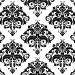 Seamless Damask Pattern — Vettoriale Stock #3920056