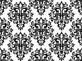 Seamless Damask Pattern — Stock Vector