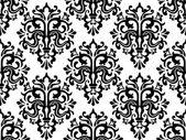 Sömlös damast mönster — Stockvektor