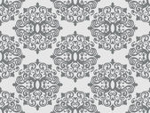 Seamless Damask Pattern — Vettoriale Stock