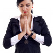 Woman praying — Stock Photo #2992747