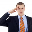 Man gives salute — Stock Photo #3080141