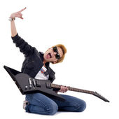 Punk Rockstar — Stock Photo