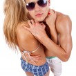 Young trendy couple — Stock Photo #3502214