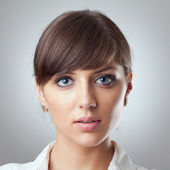 Business woman's face — Stock Photo