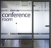 Conference room — Stock fotografie